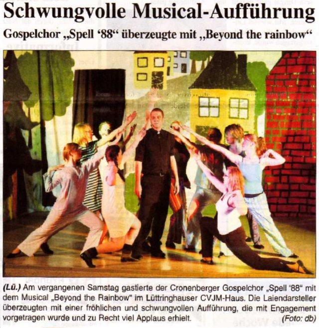 Ronsdorfer Sonntagsblatt vom 22.02.2009