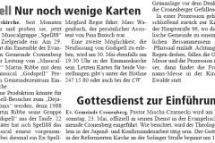 Cronenberger Woche, 22.05.2010